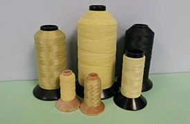 high performance blended yarns